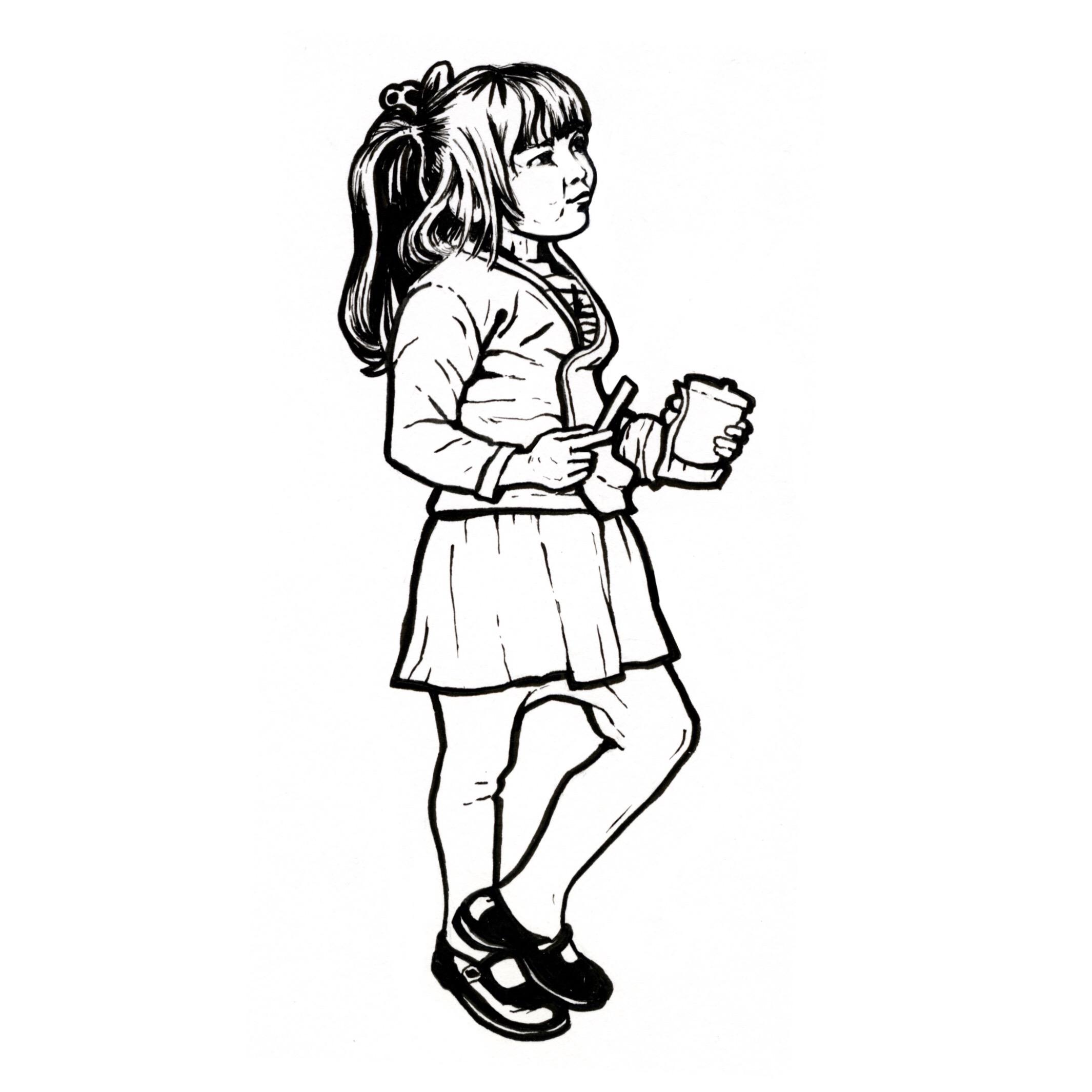 Frite girl
