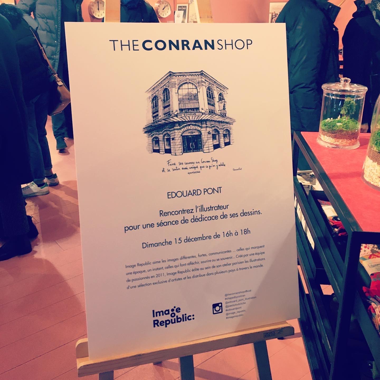 Dedicace Conran Shop