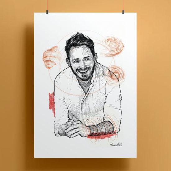 Portrait Cedric Grolet