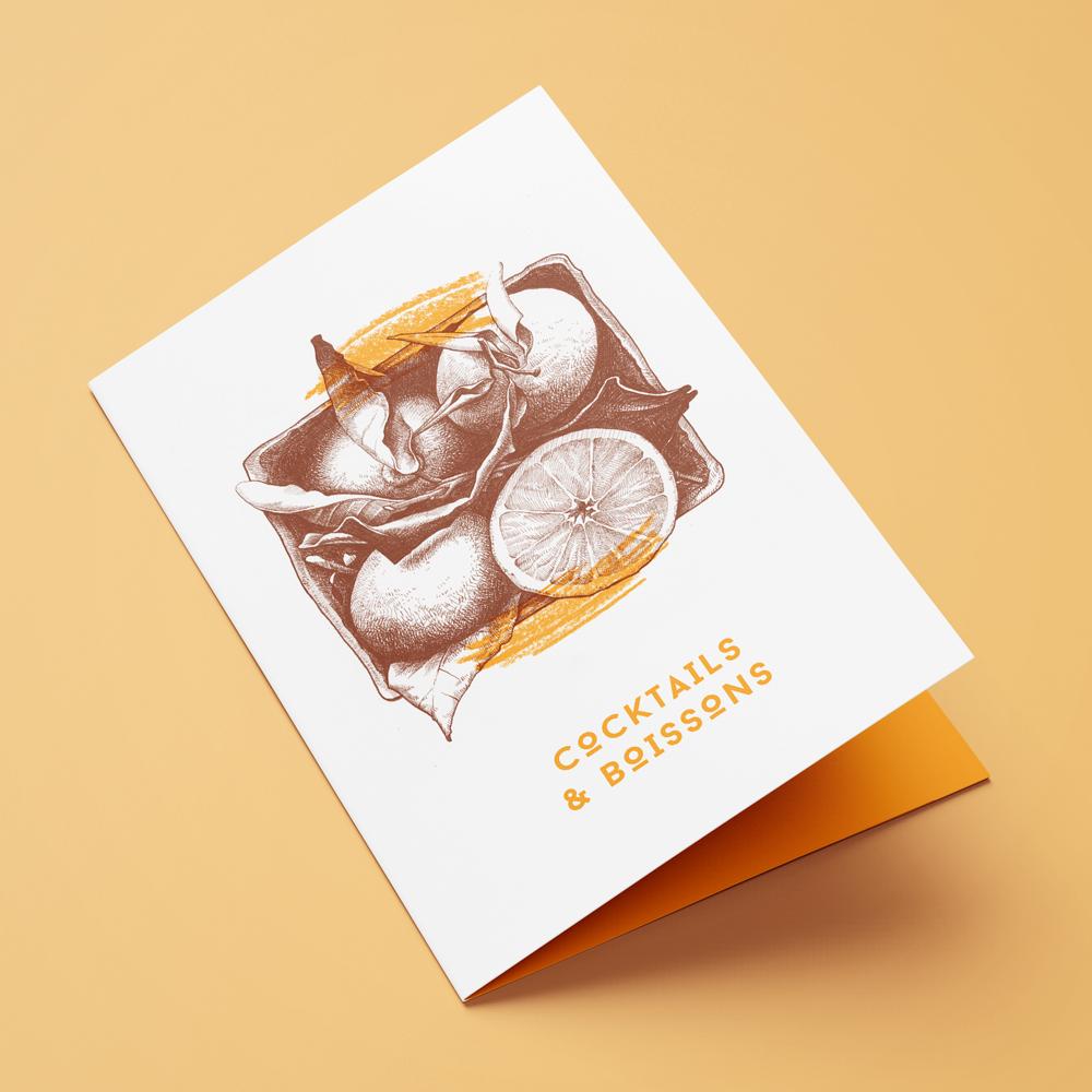Oranges Cocktail